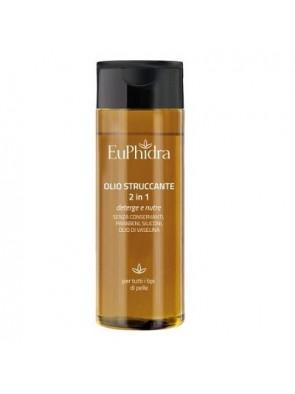 Euphidra Olio Detergente Struccante 2in1