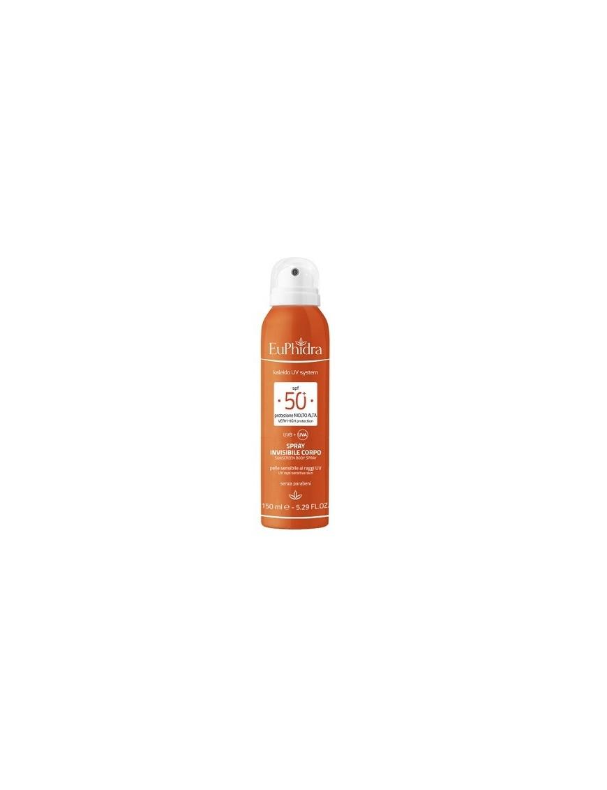 Euphidra Spray Invisibile Corpo Protezione 50+