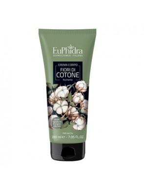 Euphidra Crema Corpo Nutriente Fiori di Cotone 200ml