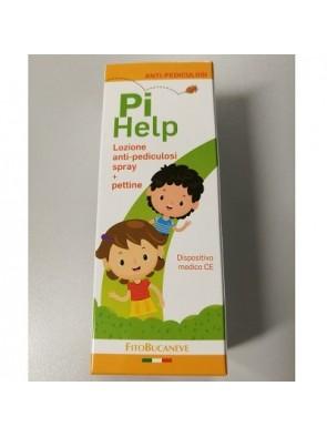 PiHelp Lozione anti-pediculosi spray + pettine