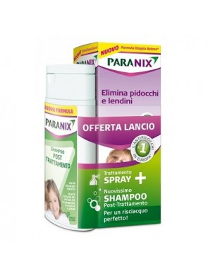 Paranix Trattamento Spray+Shampoo Post