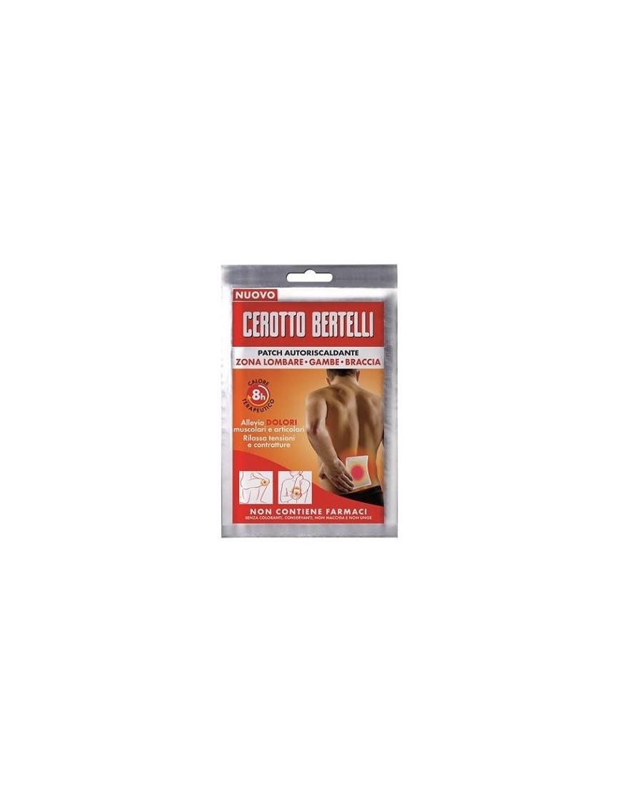 Cerotto Bertelli Patch Autoriscaldante 1pz