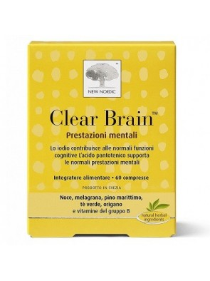 Clear Brain 60 Compresse