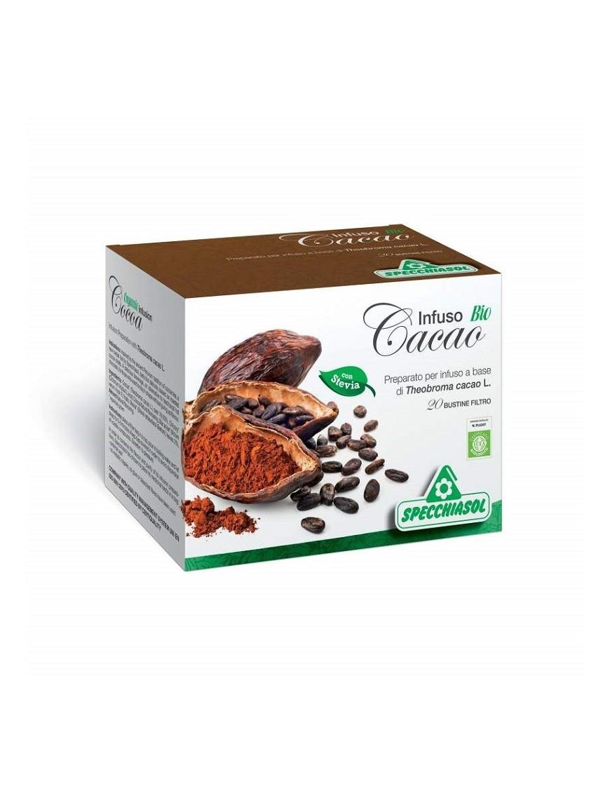 Specchiasol Infuso Bio Cacao 20 Filtri
