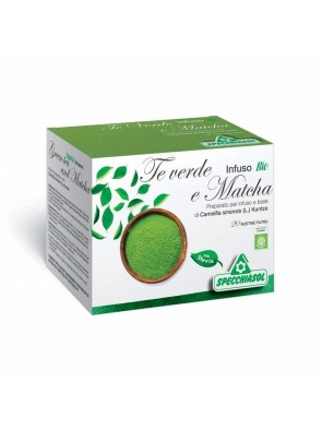 Specchiasol Infuso Bio Tè Verde & Matcha 20 Filtri