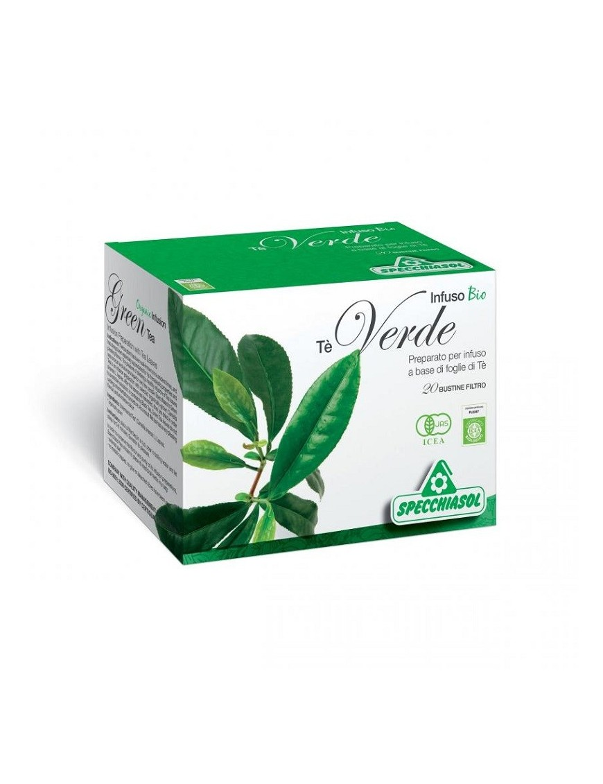Specchiasol Infuso Bio Tè Verde 20 Filtri