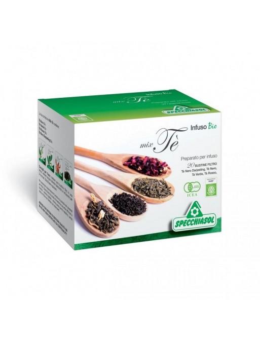 Specchiasol Infuso Bio Mix di Tè 20 Filtri