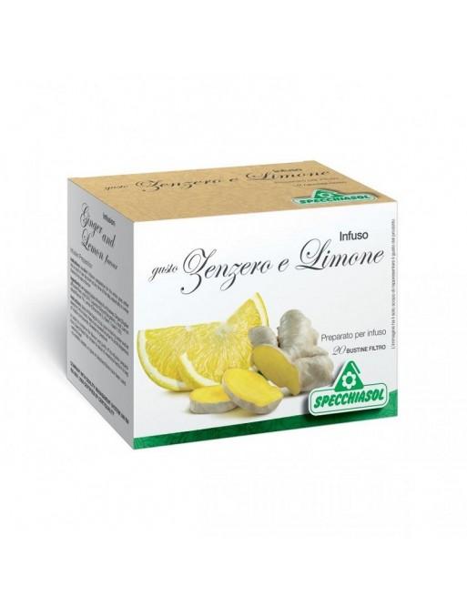 Specchiasol Infuso Zenzero e Limone 20 Filtri