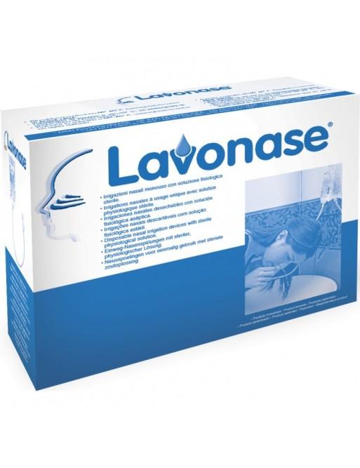 Lavonase  6 Sacche 250ml +6 Dispositivi Irrigazione Nasale