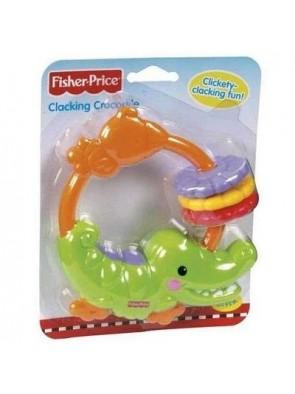 Fisher-Price Sonaglio Dentaruolo Coccodrillo 0+Mesi