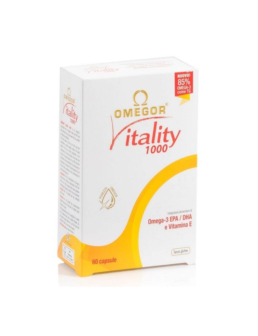Omegor Vitality 1000 60 Capsule Molli