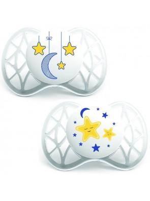 Nuvita Succhietto Night Simmetrico 0+ Mesi