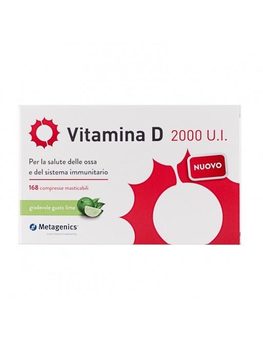 Metagenics Vitamina D 2000 UI 168 cpr