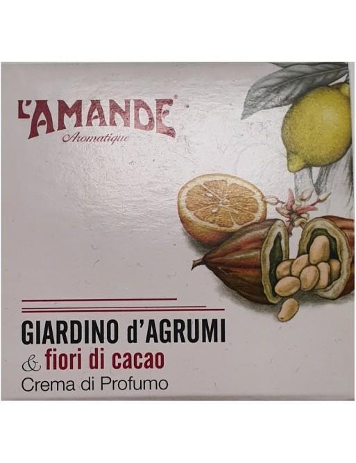 L'Amande Giardino d'Agrumi & Fiori di Cacao Cema Profumo