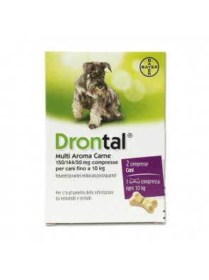Drontal Multi Aroma Carne 2Cpr