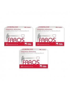 Faros Colesterolo 30cpr x3