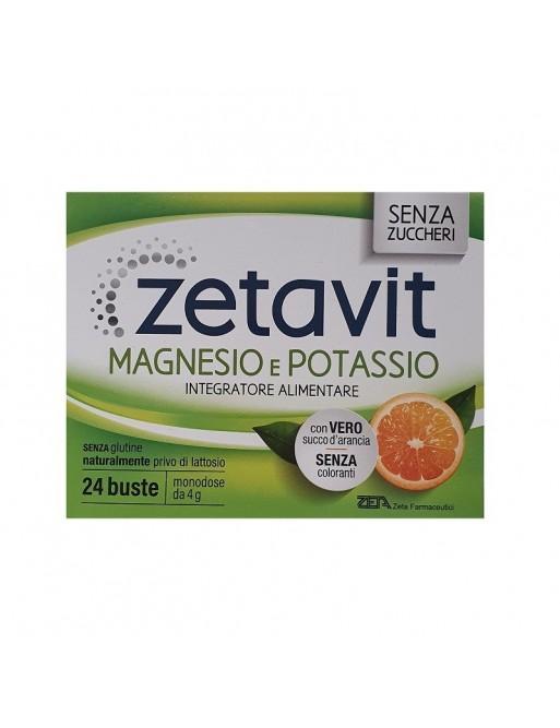 Zetavit Magnesio&Potassio Senza Zuccheri 24bust