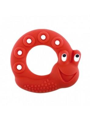 Mam Dentaruolo Lucy the Snail 2+ mesi rosso