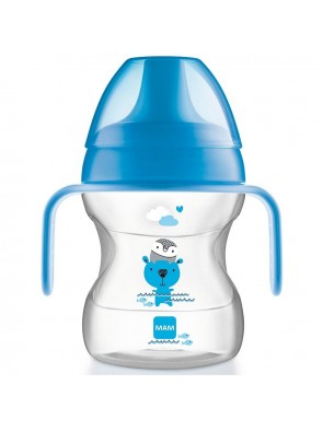 Mambaby Learn to Drink Cup Beccuccio Soft blu