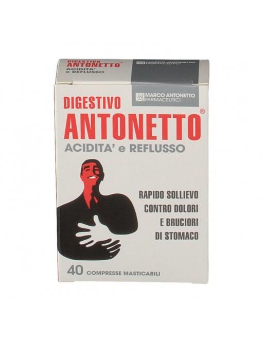 Digestivo Antonetto Acidita e Reflusso 40cpr
