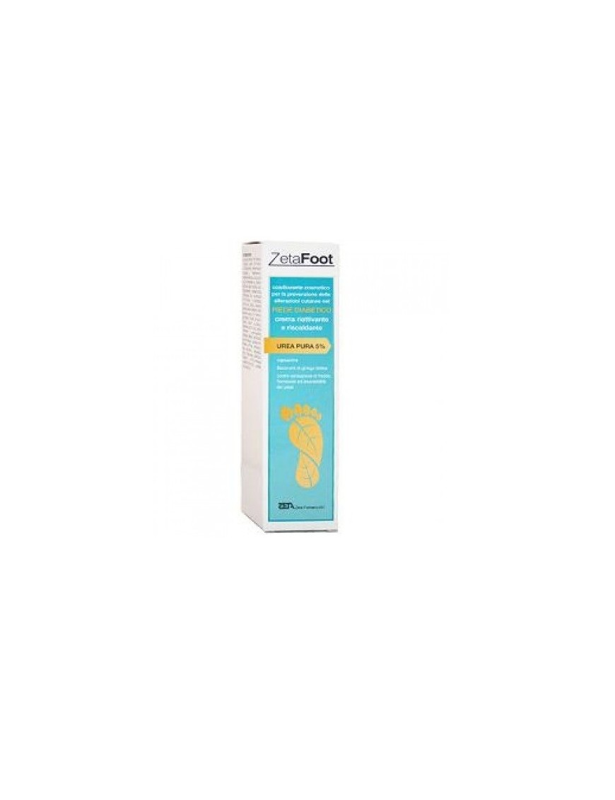 ZetaFoot Crema Piede Diabetico 5% Urea