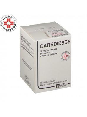 Carediesse Shampoo 10mg/g Dermatite Seborroica 2x60 ml
