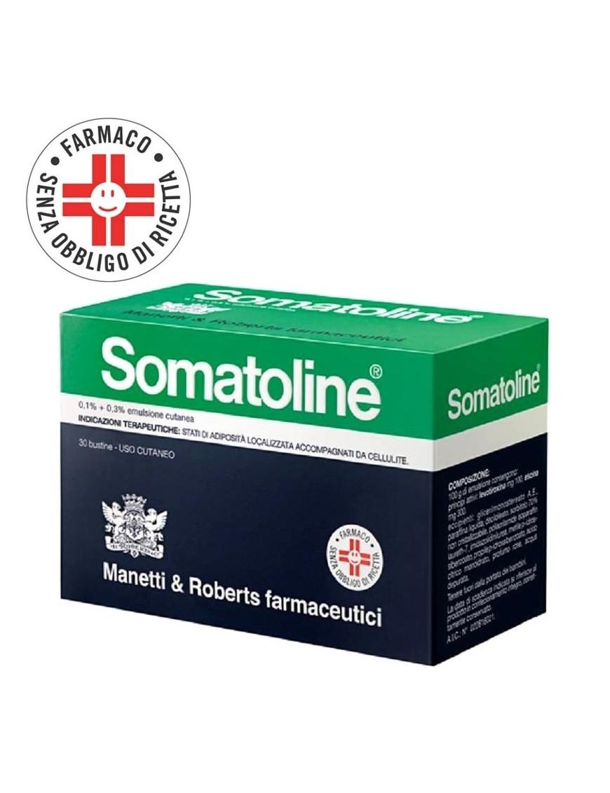 Somatoline  Anticellulite Bustine Emulsione Cutanea 0,1% + 0,3%