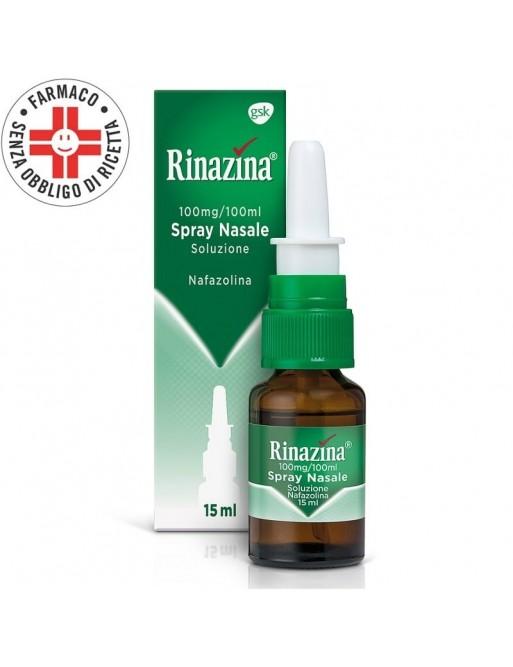 Rinazina Spray Nasale Nafazolina 15ml