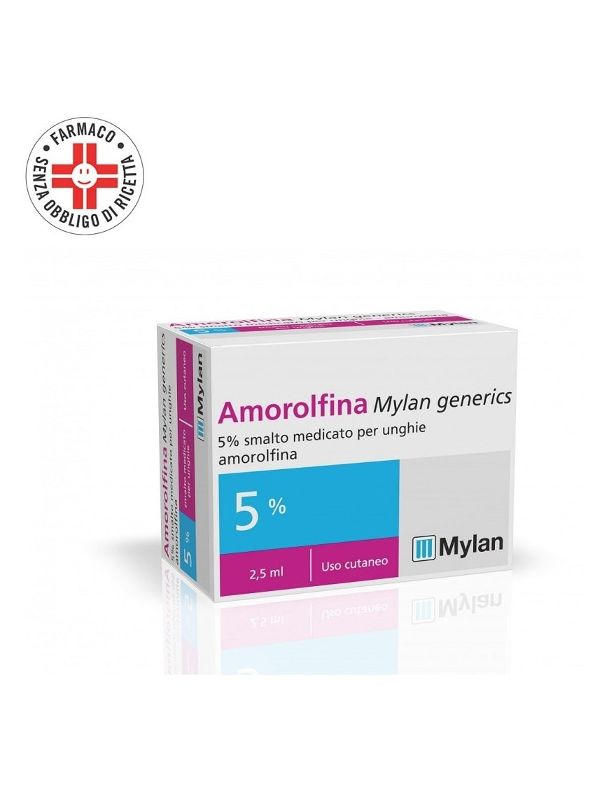 Amorolfina Mylan Samlto 5% 2,5ml (Equivalente Onilaq Locetar)
