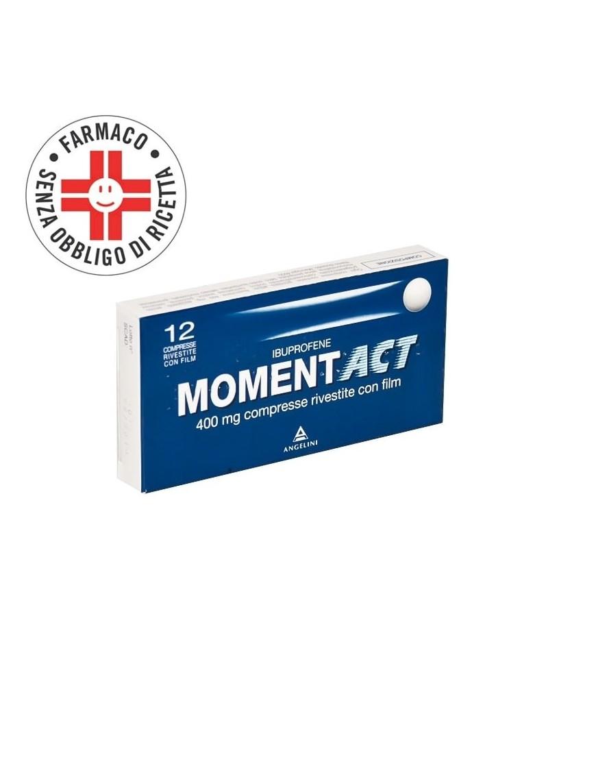 MomentAct 400mg 12 Compresse