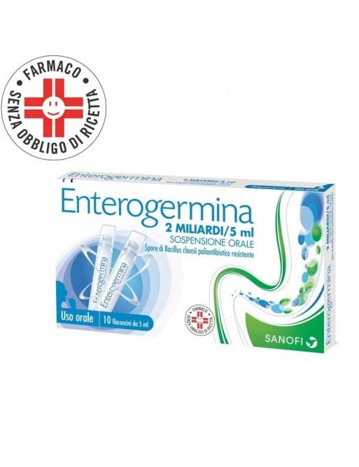 Enterogermina 2MLD/5ML 10 Flaconcini