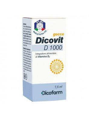 Dicovit D 1000 integratore per ossa 7,5ml