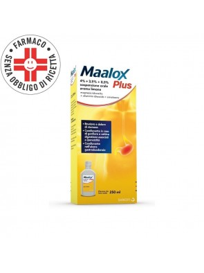 Maalox Sospensione Orale (Sciroppo) 3,65+3,25% 250ml