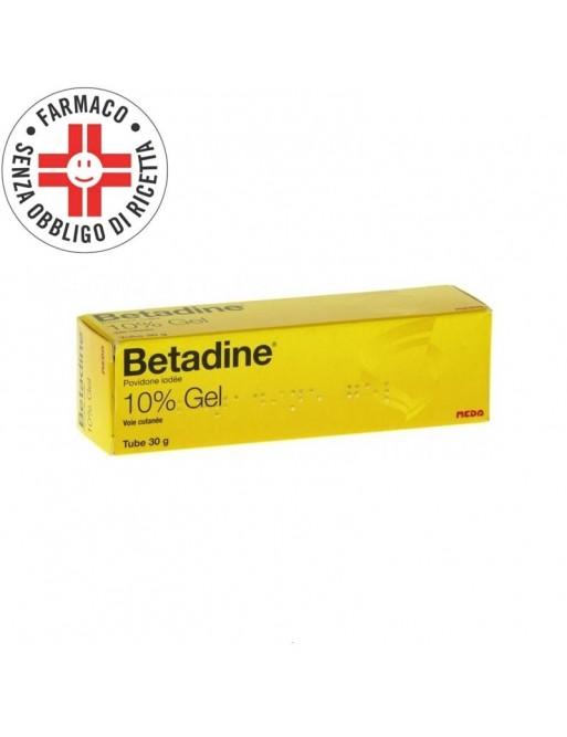 Betadine Gel Disinfettante 10% 30gr