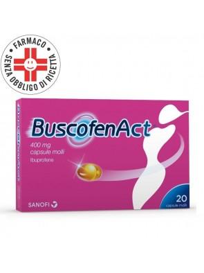 BuscofenAct 400mg 20 Capsule Molli