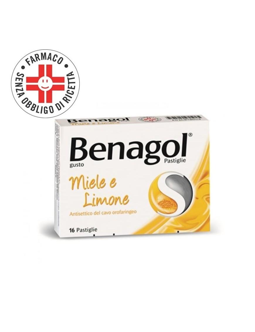 Benagol Miele e Limone 16 Pastiglie