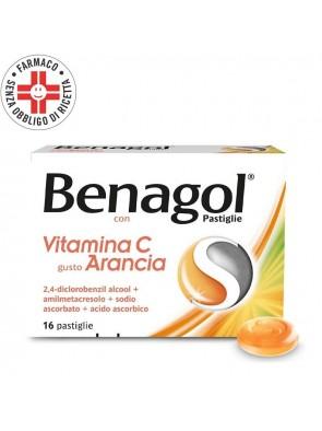 Benagol Vitamina C Arancia 16 Pastiglie