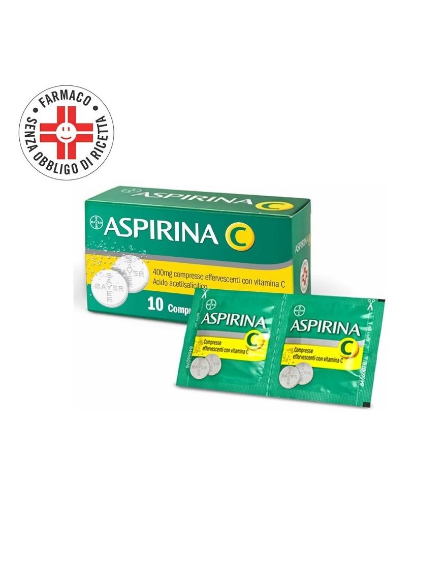 Aspirina C 400mg+200mg 10 Compresse Effervescenti
