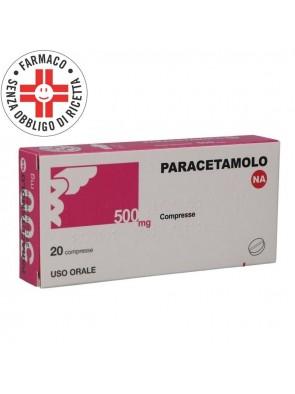 Paracetamolo 500mg 20 Conpresse (Equivalente Tachipirina)