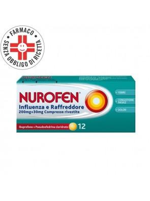 Nurofen Influenza e Raffreddore 12 Compresse