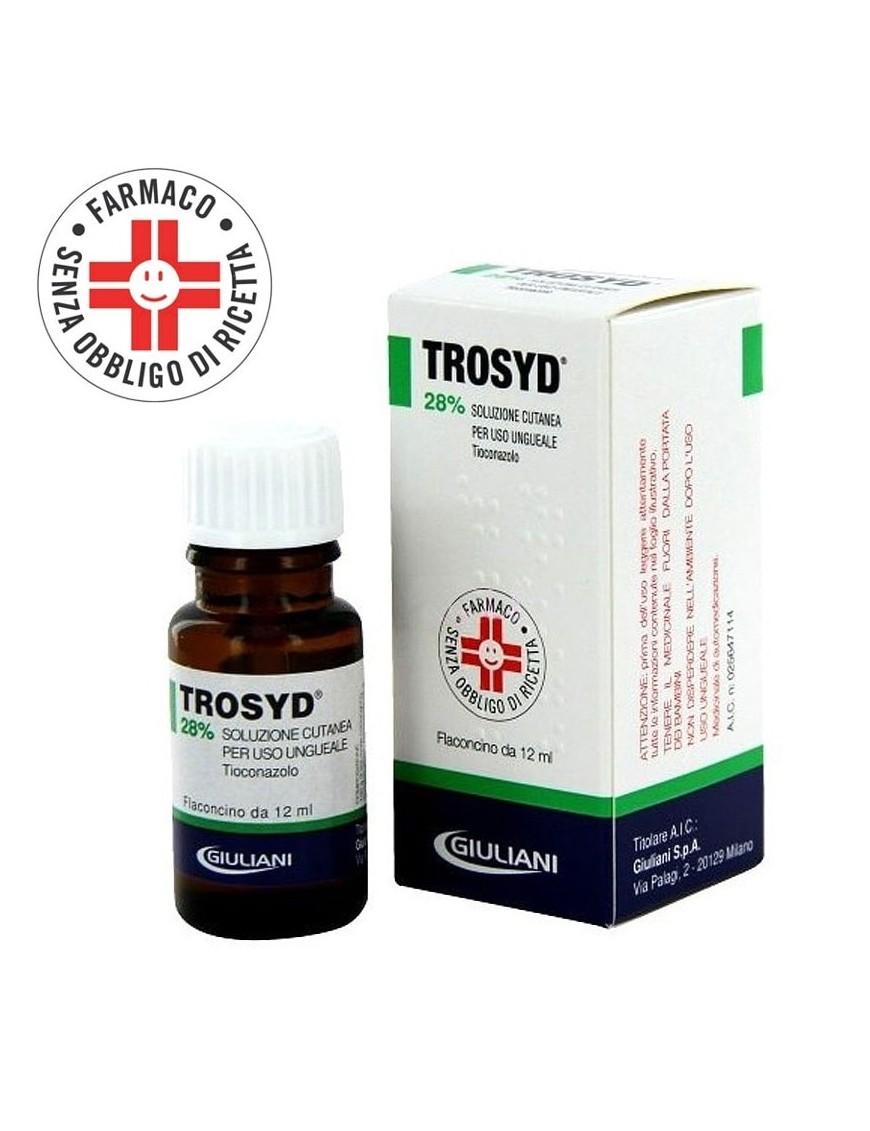 Trosyd Soluzione Ungueale 28% 12ml (Onicomicosi)