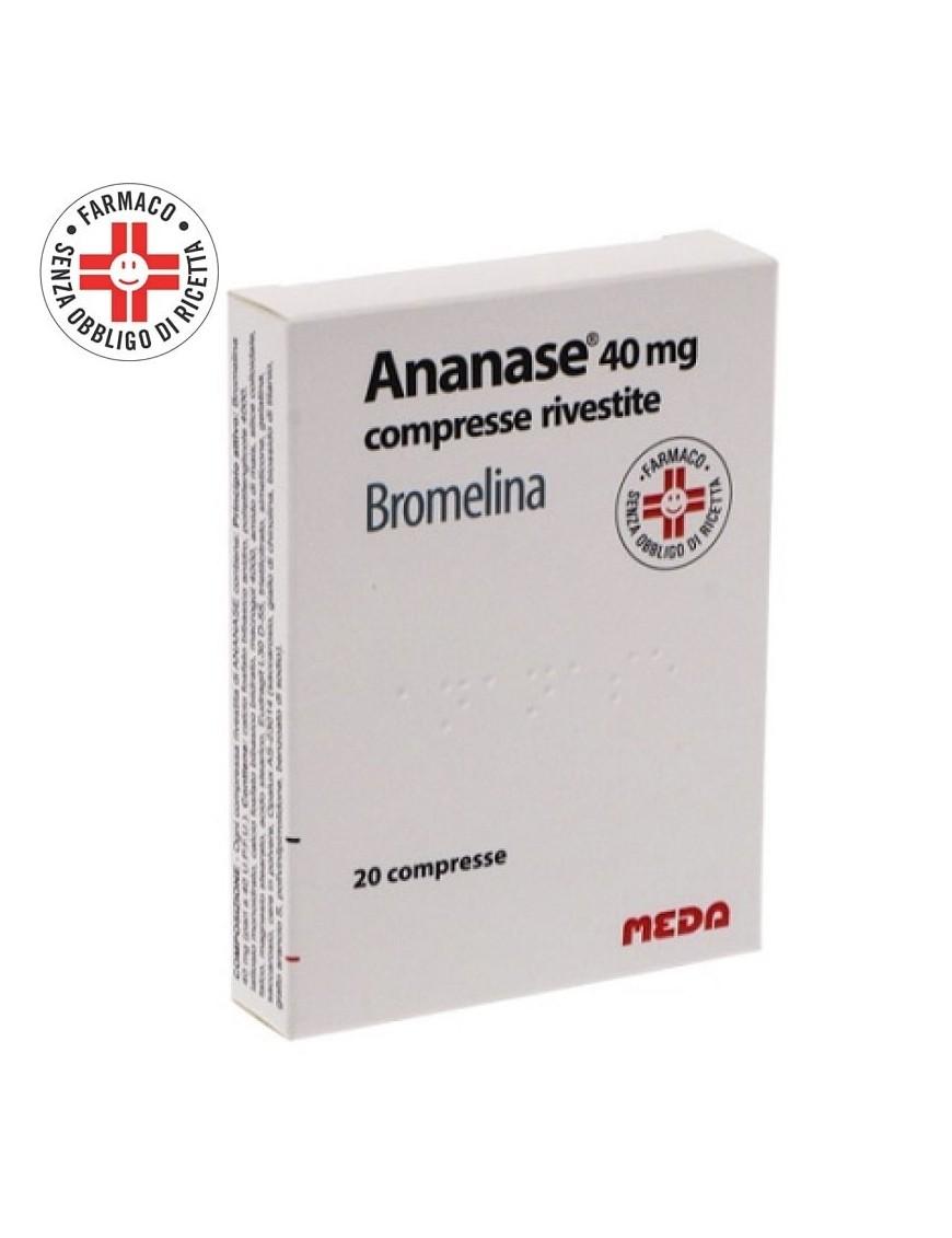 Ananase 40mg Bromelina 20 Compresse