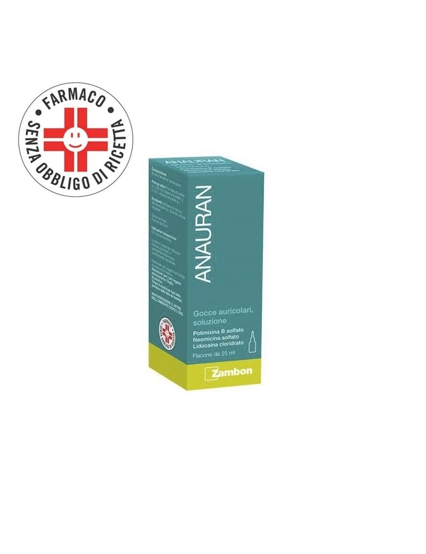 Anauran Gocce Auricolari con Polimixina B Otiti 25ml