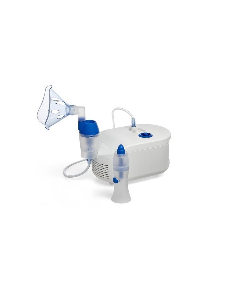 Omron Nebulizzatore Aerosol con Doccia Nasale
