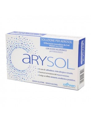 Arysol Soluzione Aerosol Raffreddore Sinusite e Rinite 10 flaconi