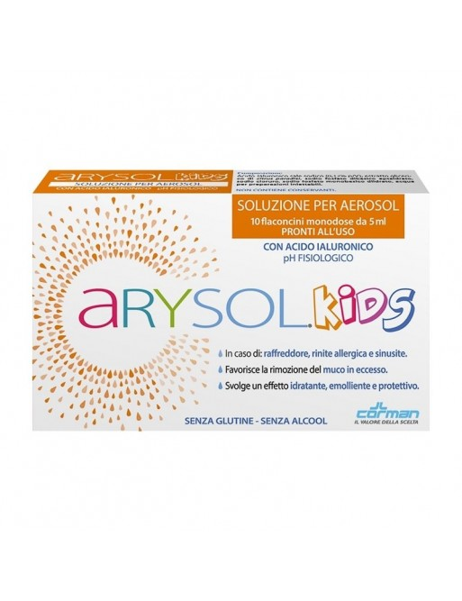 Arysol Kids Soluzione Aerosol 10 flaconi