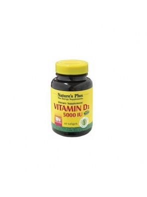 Nature Vitamina D3 5000UI 60 SfotGel