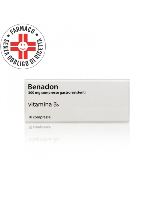 Benadon 300mg Vitamina B6 10 Compresse