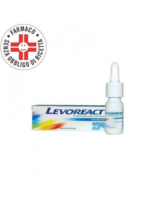 Levoreact Spray Nasale Antistaminico 10ml 0,5mg