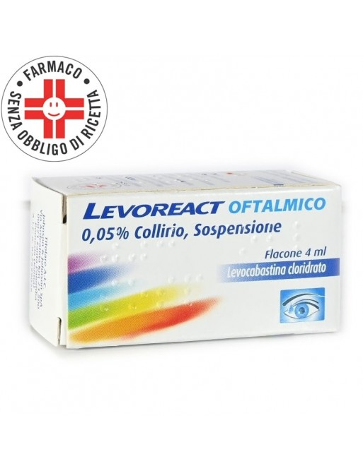 Levoreact Collirio Antistaminico 4ml 0,5mg
